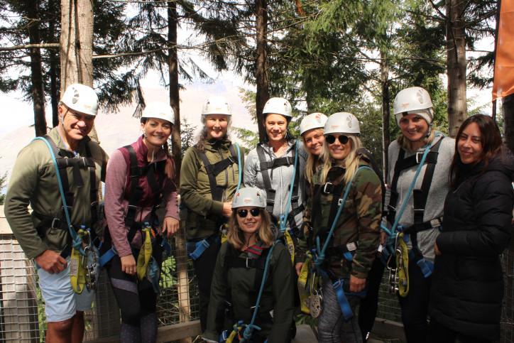 Ziptrek Ecotours raise a record breaking amount for local charity