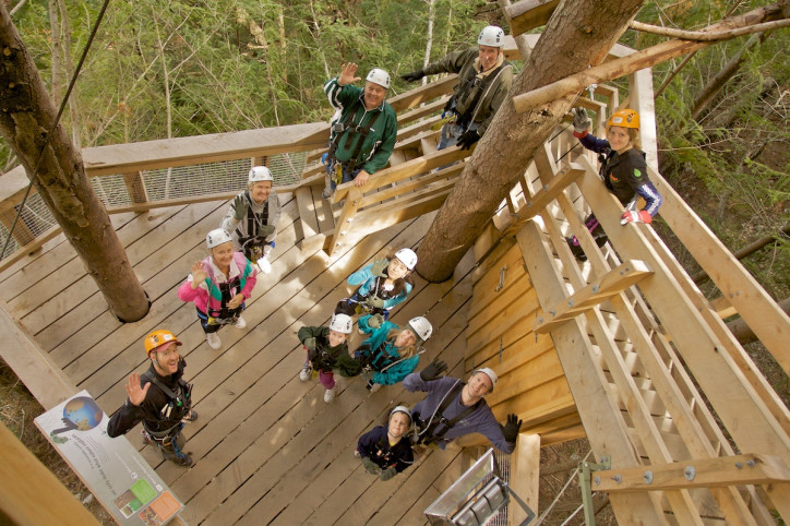 Try the World's Steepest Zipline at Ziptrek Ecotours
