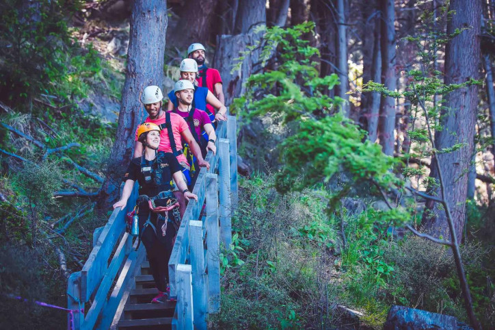 Ziptrek Ecotours achieve zero carbon zipping for another year