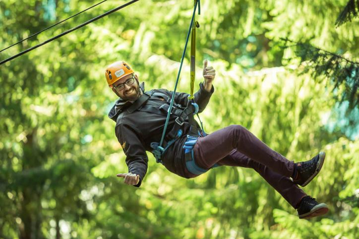 Zipline company welcomes new 'Ziptrekker'