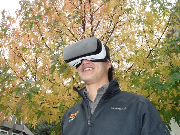 Zipline company early adopter of virtual reality video technology